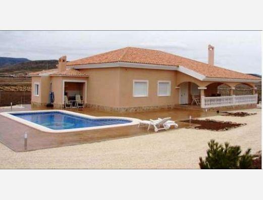 New build villas in Pinoso, Alicante