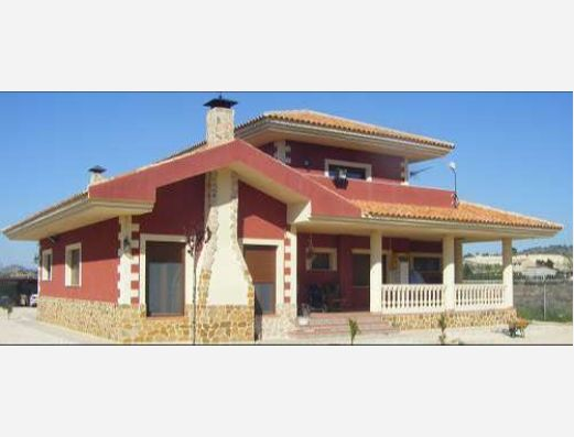 New build villas in Pinoso, Alicante