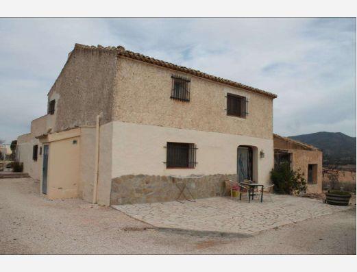 Country house near Pinoso, Alicante