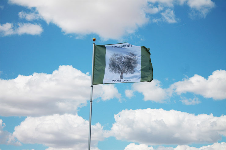 Bandera The Olive Tree